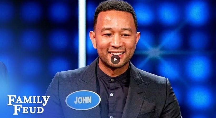 John Legend and Lisa Vanderpump face off on Celebrity Family Feud